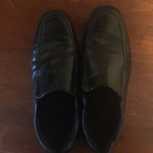 Black boys loafers. Size 6